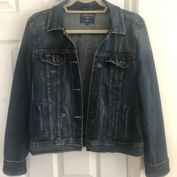 Just USA Jackets & Blazers - Just USA Denim Jacket, Size S